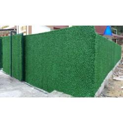 yeşil çim duvar